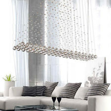 New Modern Crystal Pendant Lamp Ceiling Lighting Rain Drop Chandelier LED Light