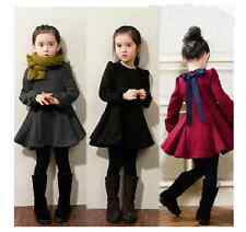 New Fashion Baby Girls Dress Spring Winter Kids Children Clothes Dresses