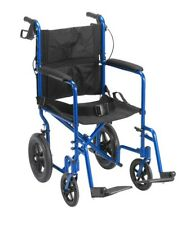Drive Lightweight Aluminum Expedition Transport Wheelchair 300lb Capacity Chair