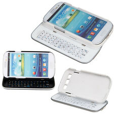 Bluetooth Slide Wireless Keyboard Hard Case for SamSung Galaxy S3 i9300 S4 i9500