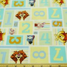 Winnie The Pooh Hide and Seek Numbers 100% Cotton Fabric