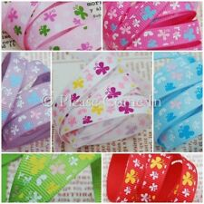 5 meters Butterfly Rabble Grosgrain Ribbon for Hair Clips and Bows