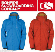 BONFIRE ARC Jacket Giacca Snowboard Uomo New Collection 2013/14