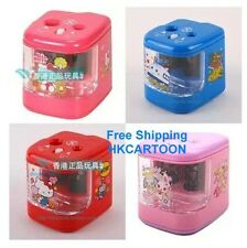 SANRIO HELLO KITTY JEWEPET ELECTRIC PENCIL SHARPENER WITH TWO HOLE 5249
