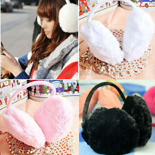 Cute Ladies Girl Adjustable Winter Warm Ear Earmuffs Earcap Earlap Warmers Cover