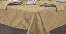 """70"""" inch Round Tablecloth set with 6 Napkins choose color 100% Polyester"""