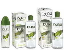 DURU TURKISH LEMON COLOGNE AFTERSHAVE LIMON KOLONYA 150ML, 200ML, 400ML, 1 LITRE