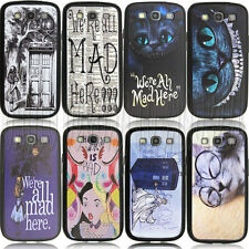 durable Alice in Wonderland Cheshire Cat case for Samsung Galaxy S3 i9300 01137