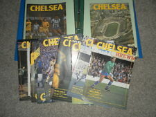 CHELSEA HOME PROGRAMMES FROM 1984/5