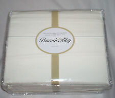 $480 Peacock Alley 400TC xBIG & xDEEP King Sheet Set 100% Cotton Sateen Ivory