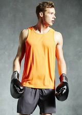 Men's running vest by AWDis! Perfect for jogging and other Athletic sports!