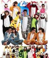 Unisex Adult Pajamas Kigurumi Cosplay Costume Anime Animal Sleepwear Suit S-XL