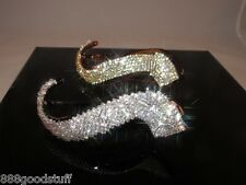 1 New Gorgeous Hair Clip with Shinny Swarovski Crystals Hair Jewelry Accessories
