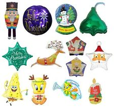 Jumbo U Choose Christmas Theme Balloons Party Decoration ~ Many options ~ Merry