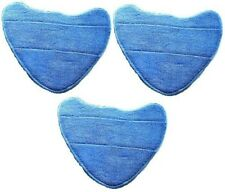 3 x Vax S2S S2ST Compatible Microfibre Replacement Pads Steam Mop Floor Washable