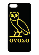 New iP5 OVOXO Drake Owl OVO XO Black Case cover for iPhone 5S / 5 / 5C or 4S / 4