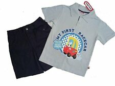 LITTLE TIKES Boy's Size 3T or 4T MY FIRST RACER Shorts Outfit, Set, NEW