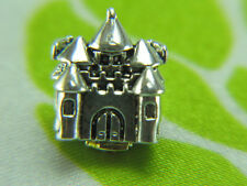 925 Sterling Silver Bead Charm Happily Ever After Castle, Open Your Heart Charms