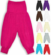 Girls Harem Trousers Kids Costume Dance Pants Show Pant New Child Age 2-13 Years