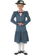 Child Mary Poppins Outfit Fancy Dress Costume Book Week Disney Kids Girls