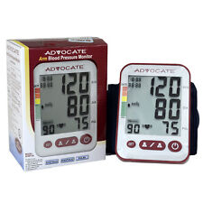 Advocate Blood Pressure Monitor Automatic 406 Arm Systolic Diastolic Pulse