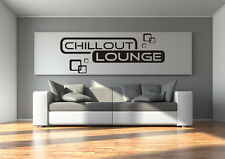 Wandtattoo Chillout Lounge Wohnzimmer Relaxzone Retro Cubes Quadrate S-XXL tx015