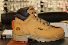 """Timberland Pro Series Titan 6"""" Wheat Composite Toe 99525 Work Safety Boots"""