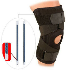 Open Patella Knee Support Compression Brace Adjustable Velcro Straps Neoprene US