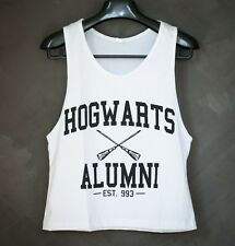 Hogwarts Alumni Harry Potter Sexy Sideboob Cropped Tank Top Low Cut Size S or M