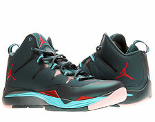 Nike Air Jordan Superfly 2 Dark Sea/Gym Red Mens Basketball Shoes 599945-308