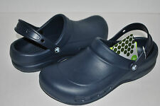 NWT CROCS WORK BISTRO NAVY BLUE non slip shoes 4 6 10 11 12 unisex professional