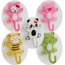 Hook Novelty Design Cheap Cartoon Cat Frog Panda Pig Bee Suction Kitchen Shower