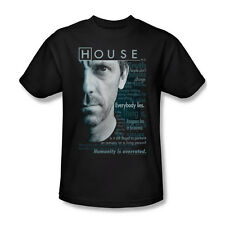 House TV Show Dr. Gregory Houseisms Youth Ladies Jr Women Men L/S T-shirt Top