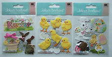 ~~Your Choice~~ Jolee's Boutique EASTER Dimensional Stickers; Bunny Chicks Eggs