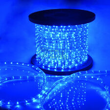 Blue LED Rope Light 110V Home Party Christmas Decorative In/Outdoor