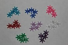 50 each 18mm 18 mm Starflake Star Flake Paddlewheel Acrylic Transparent Bead
