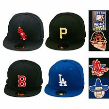 New Era MLB All Star Game World Series Patch Fitted Hat 1933 1959 1961 jordan 13