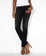 Levi's - REVEL DEMI CURVE SKINNY - Black Belt  15436-0002