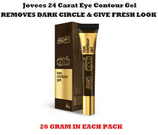 JOVEES 24 CARAT GOLD EYE CONTOUR GEL REMOVES DARK CIRCLE & GIVE FRESH LOOK 20GM