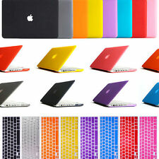 """Frosted Hard Case & Keyboard Cover Apple Macbook Pro 13""""/15"""" Retina, Air 11""""/13"""""""