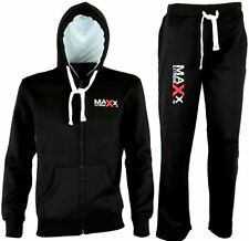 FULL FLEECE BOXING TRACKSUIT HOODIE TROUSER GYM MMA MENS PANTS TRACK SUIT