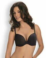 New Wonderbra D-G Moulded T-Shirt Push Up Bra 9145 Black VARIOUS SIZES