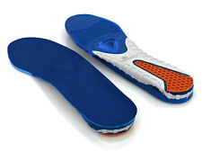 Spenco Gel Insoles Comfort Shoes Antimicrobial Eliminates Odor TPR Arch Support