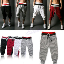 Baggy Jogger Casual Trousers Shorts Men Sports Pants Harem Training Dance NEW
