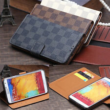 Luxury Leather Flip Case Stand Card Cover For Samsung Galaxy Note III 3 N9000