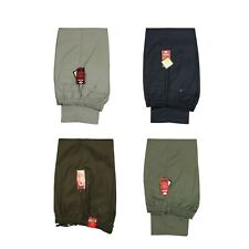 MENS TROUSERS PANTS RUGBY ELASTICATED WAIST IN 6 COLOURS SIZES 32--60