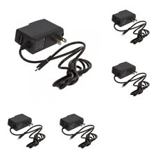 5X Micro USB Wall Home Travel Charger Accessory Black 1 Amp for Cell Phones