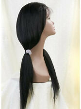 Capless / full lace wig lace front wig 100% remy indian human hair full wig new