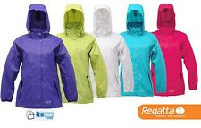 Regatta Joelle III Womens Waterproof Lightweight Packaway  Mac Jacket WW867