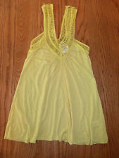 NWT WOMENS TESTAMENT BUTTERCUP YELLOW TANK TOP X-SMALL XS SMALL S $106